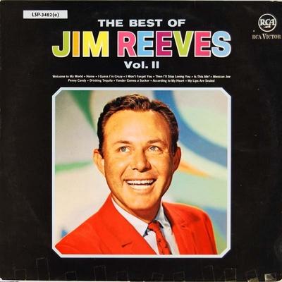 The best of Jim Reeves Vol. II; Grammofonplate