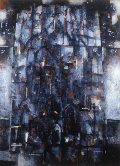Blå katedral