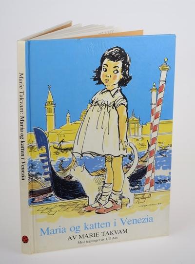 Maria og katten i Venezia; Bok