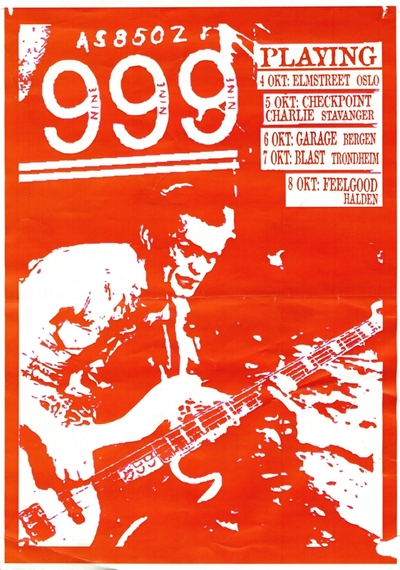 999; Plakat