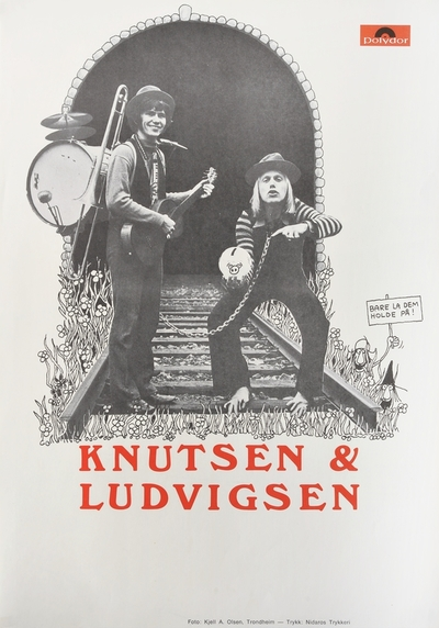 Knutsen & Ludvigsen; Plakat