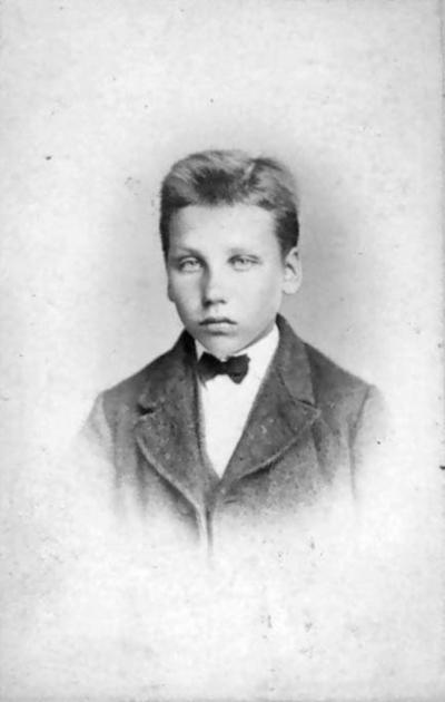 Portrett av Anton Ansnæs