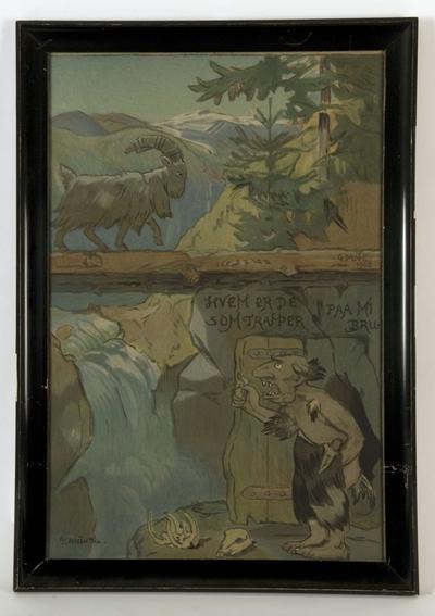 Akvarell; Bukkene Bruse
