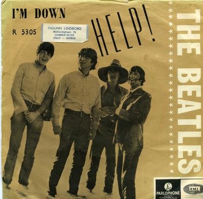 Grammofonplate; Help!; I'm down