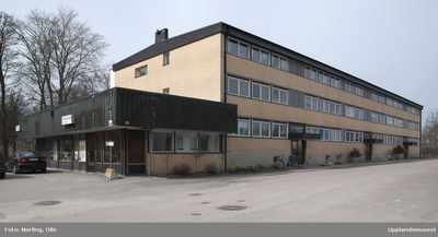 Heby tegelbruk, Vsterlvsta socken, Uppland, januari 1965