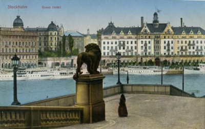 Image from object titled Stockholm Grand Hotel Imp. 47