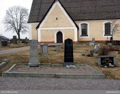 Kyrkogrden vid Boglsa kyrka, Boglsa socken, Uppland