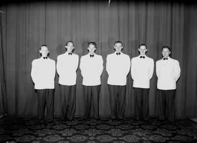 Sven Larssons orkester, sex män.