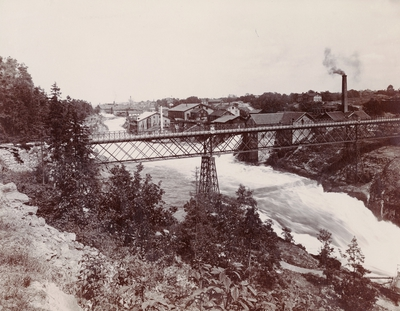 Image from object titled Trollhättan. Nya bron.