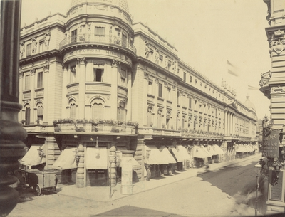 Image from object titled Central Hotel i Berlin 1886.