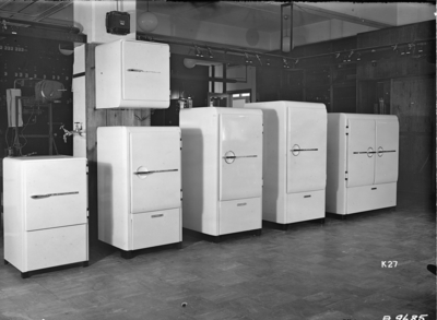 LU 150, L 150, L 300, L 450, L 650 och L 1000-kylskåp.