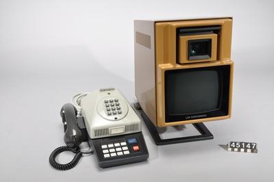 Image from object titled Bildtelefon