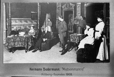 """Hermann Sudermann: """"Midsommareld""""  Hillberg-Tournéen 1902"""