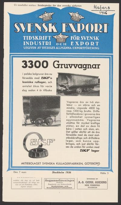 Image from object titled Hofors järnverks kronologi. Ur Carl Sahlins bergshistoriska samling.