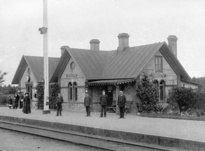 Skåne - Hallands Järnväg, SHJ, Vegeholm station.