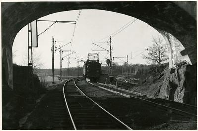 Linjebild, Älvsjö.