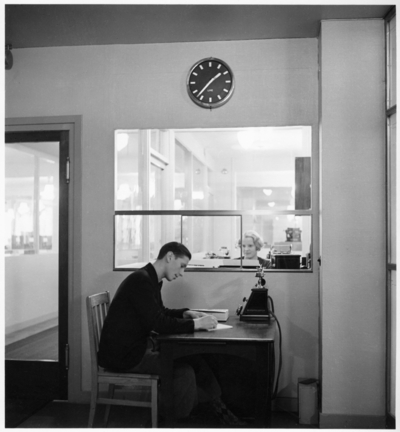 Image from object titled Esseltehuset Interiör, kontor