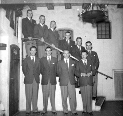 Whispering Band på restaurang Drotten, 10 män.