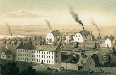 Image from object titled Barnängens Tekniska fabrik i Stockholm.