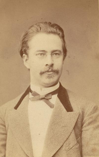 Gustaf Reinhold Smerling. Bergsingenjör vid Degerfors Järnverk.