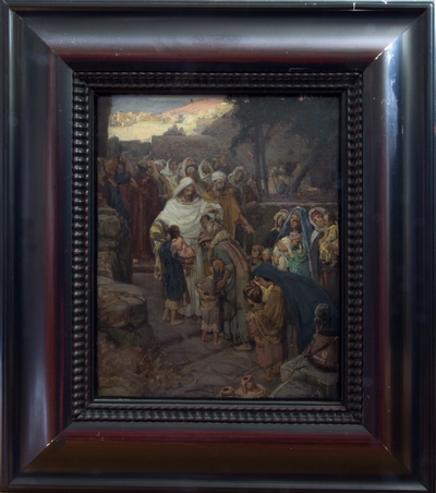 Image from object titled Oljemålning