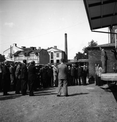 """Svensk Rakklinga. """"Sving"""". Journalistkongress. Augusti 1944"""