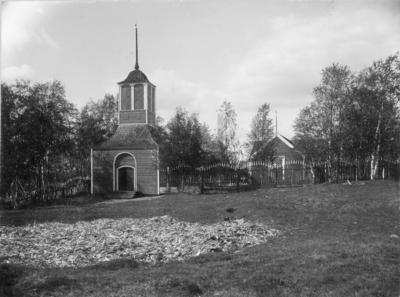Gällivare gamla kyrka (på bilden benämnd Lappkyrkan), Gällivare.