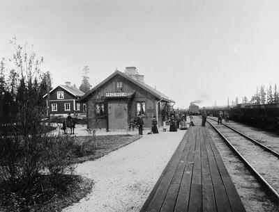 Image from object titled Polcirkeln järnvägsstation