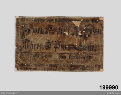 Image from object titled Brudskrift