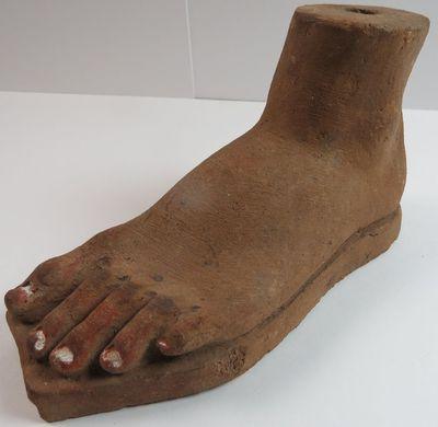 Ex voto van een voet