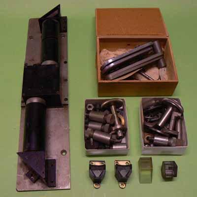 Blinkmicroscoop (onderdelen)