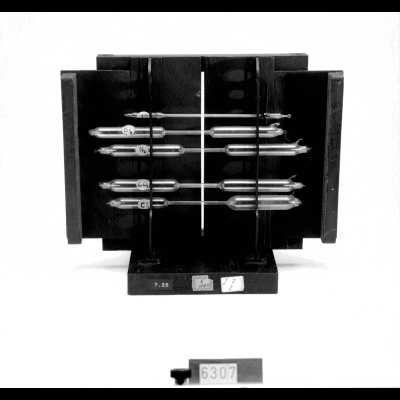 Gasontladingsbuizen (5) voor spectroscopisch onderzoek