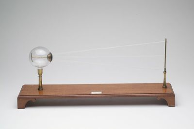 Demonstratiemodel lichtstralengang