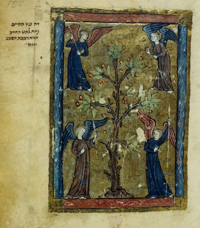The Tree of Life from BL Add 11639, f. 122