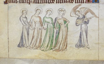 Image from object titled Choir from BL Royal 2 B VII, f. 229