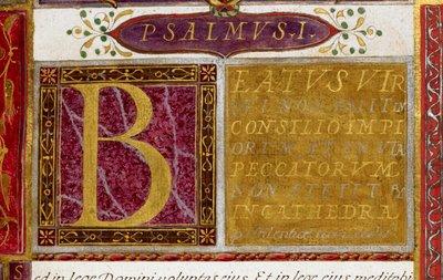 Display script from BL Royal 2 B IX, f. 3