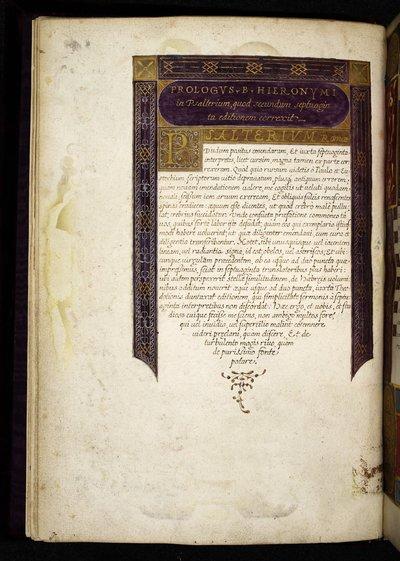 Display script from BL Royal 2 B IX, f. 2v