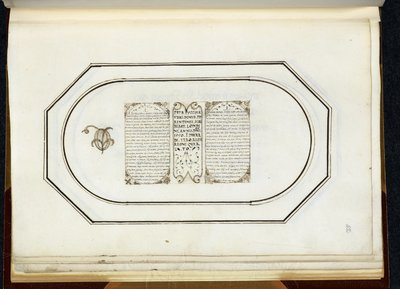 Calligraphic specimens from BL Royal 14 A XVI, f. 42
