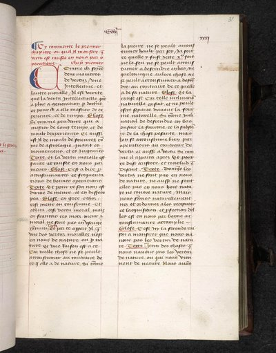 Puzzle initial from BL Eg 737, f. 31