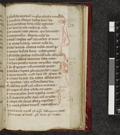 Text page from BL Harley 2422, f. 64