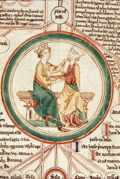 Salomon and Sabah from BL Royal 14 B IX, eighth picture