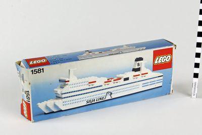 myyntipakkaus; Lego 1581; Finlandia; Silvia Regina