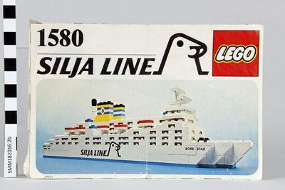 kokoamisohje; Lego 1580; M/S Svea Corona; M/S Bore Star