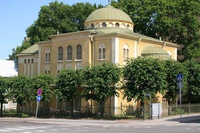 Image from object titled Turun synagoga; Brahenkadun ja Tuureporinkadun kulmaus