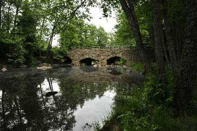 Lapijoen silta kuvattuna luoteesta.