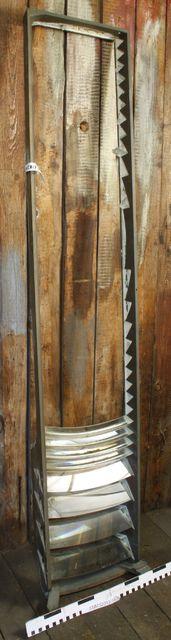 majakan linssistön osa; Fresnelin linssistön seinäke