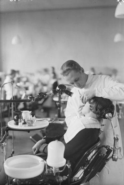 Odontologian laitos, hammasklinikka