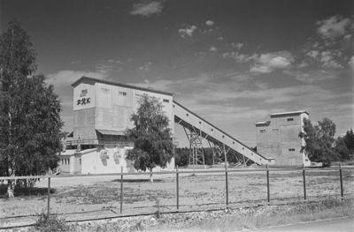 Image from object titled Montolan kaivos Virtasalmella; kaivos oli kalkkikivilouhos, joka oli toiminnassa vuosina 1909–1976