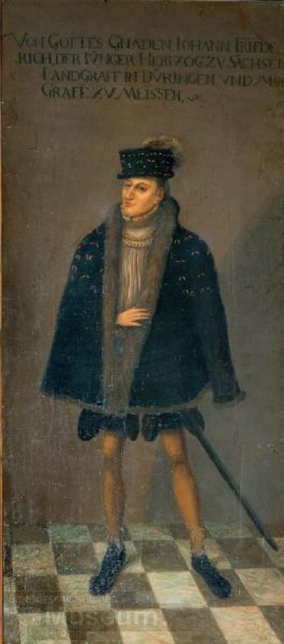 Bildnis Herzog Johann Friedrich der Jüngere; Gemälde; Porträt
