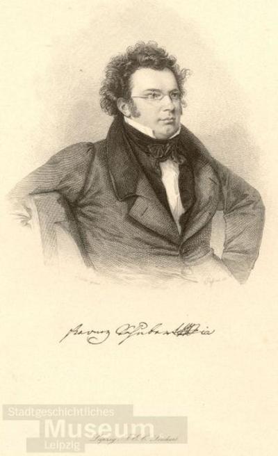 Franz Schubert; Stahlstich